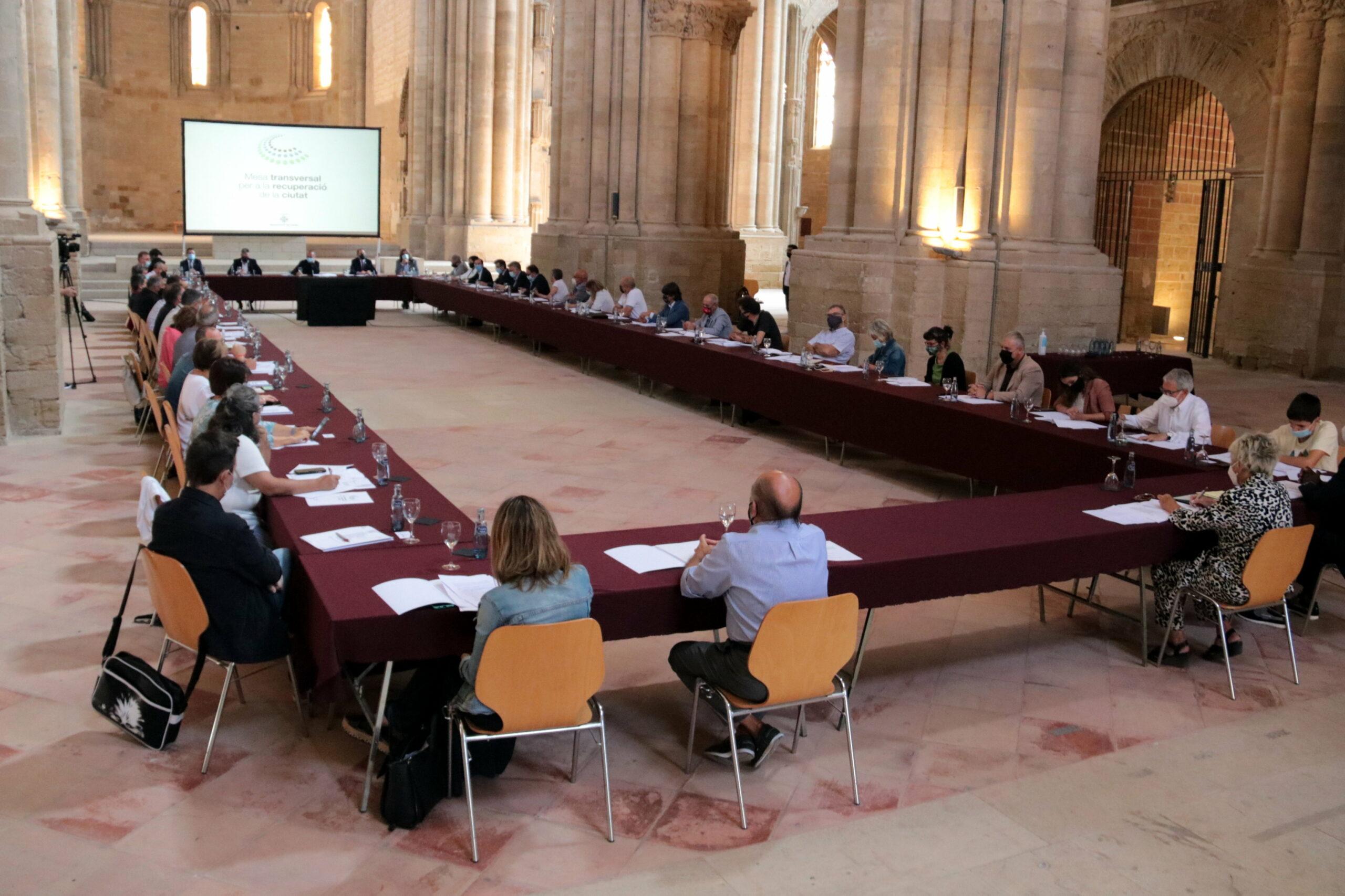 La mesa transversal per a la recuperació de Lleida | ACN