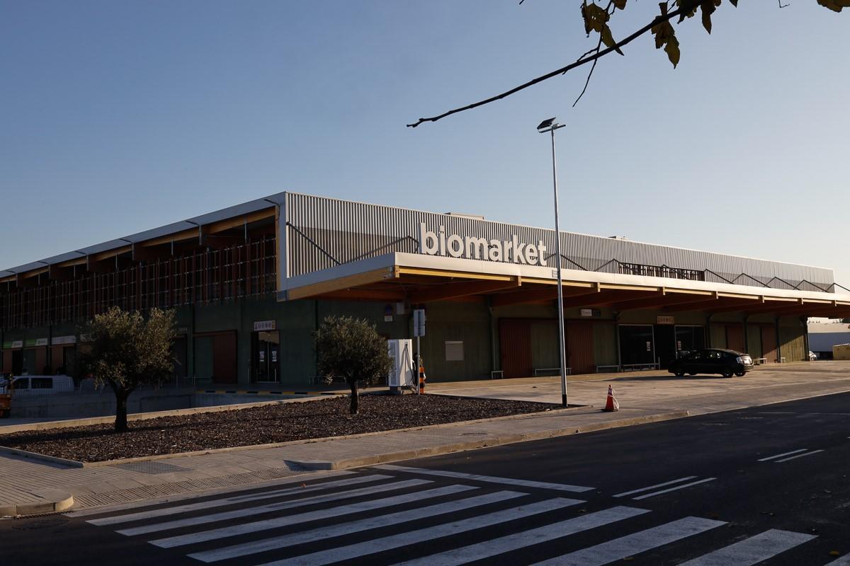 Exterior del Biomarket   Cedida
