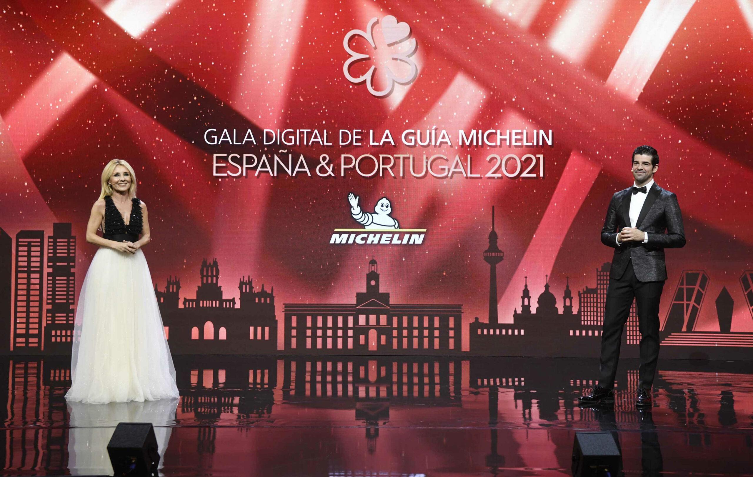 Gala de la Guia Michelin amb Cayetana Guillén Cuervo i Miguel Ángel Muñoz a Madrid   ACN