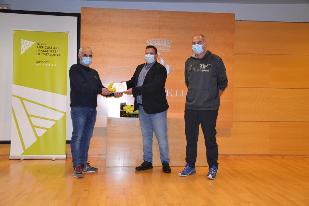 Miralcamp Fruits guanya el Premi a la Millor Poma Golden atorgat per JARC | Cedida