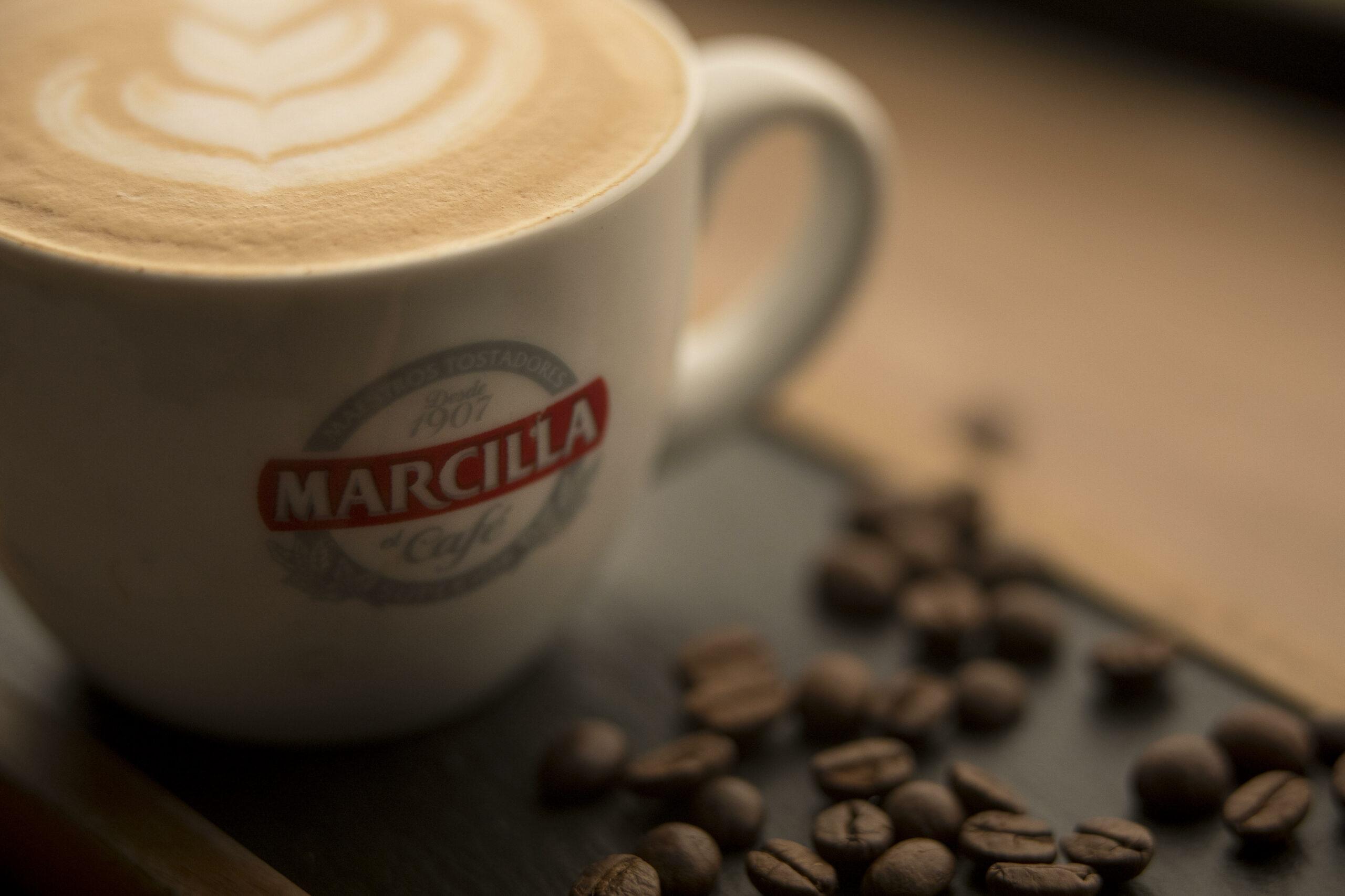 Una tassa de cafè Marcilla   Cedida