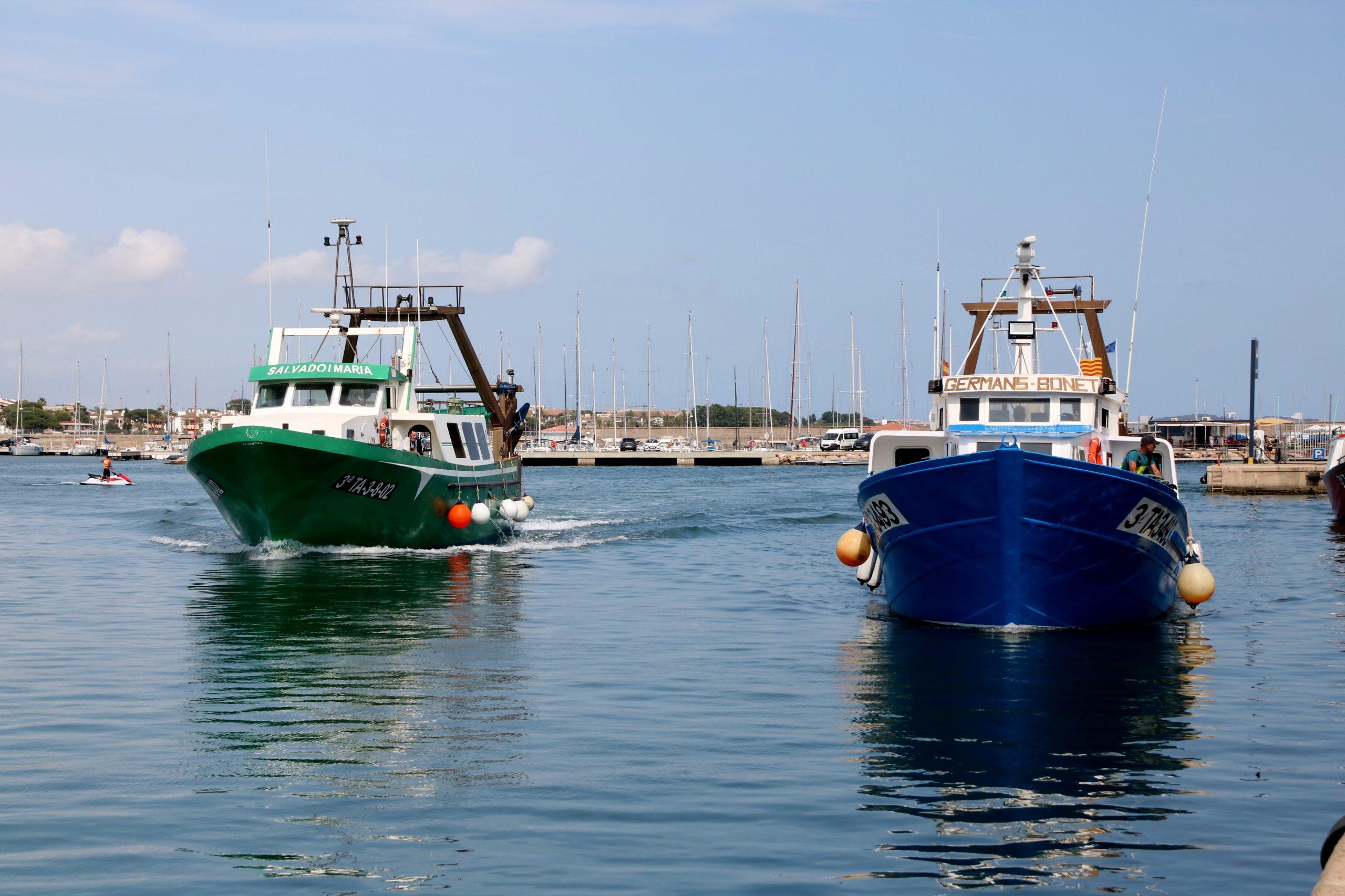 Dues embarcacions d'arrossegament de Cambrils | ACN