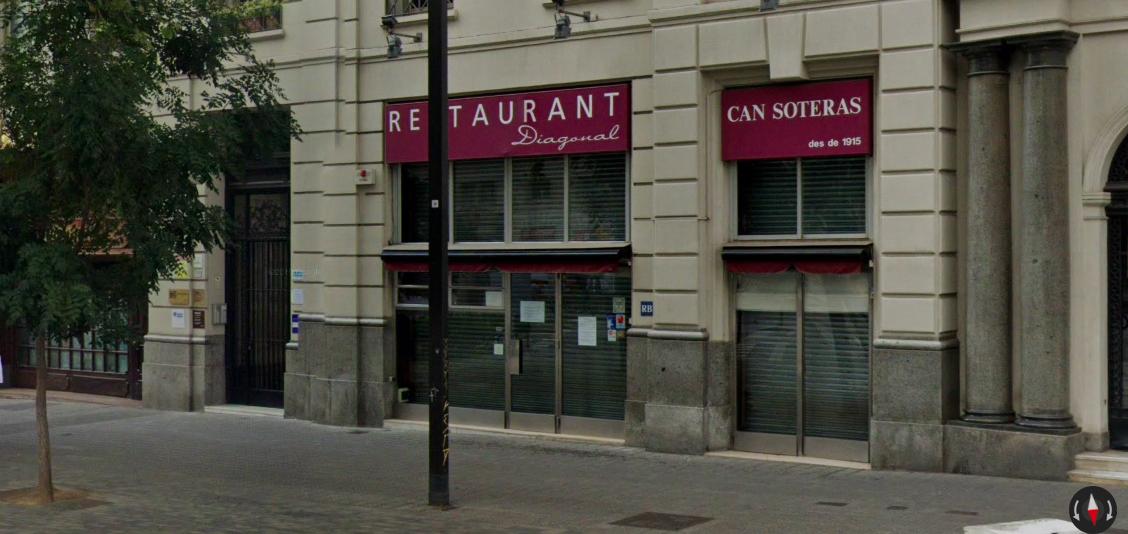 El restaurant Diagonal - Can Soteras | Google Maps