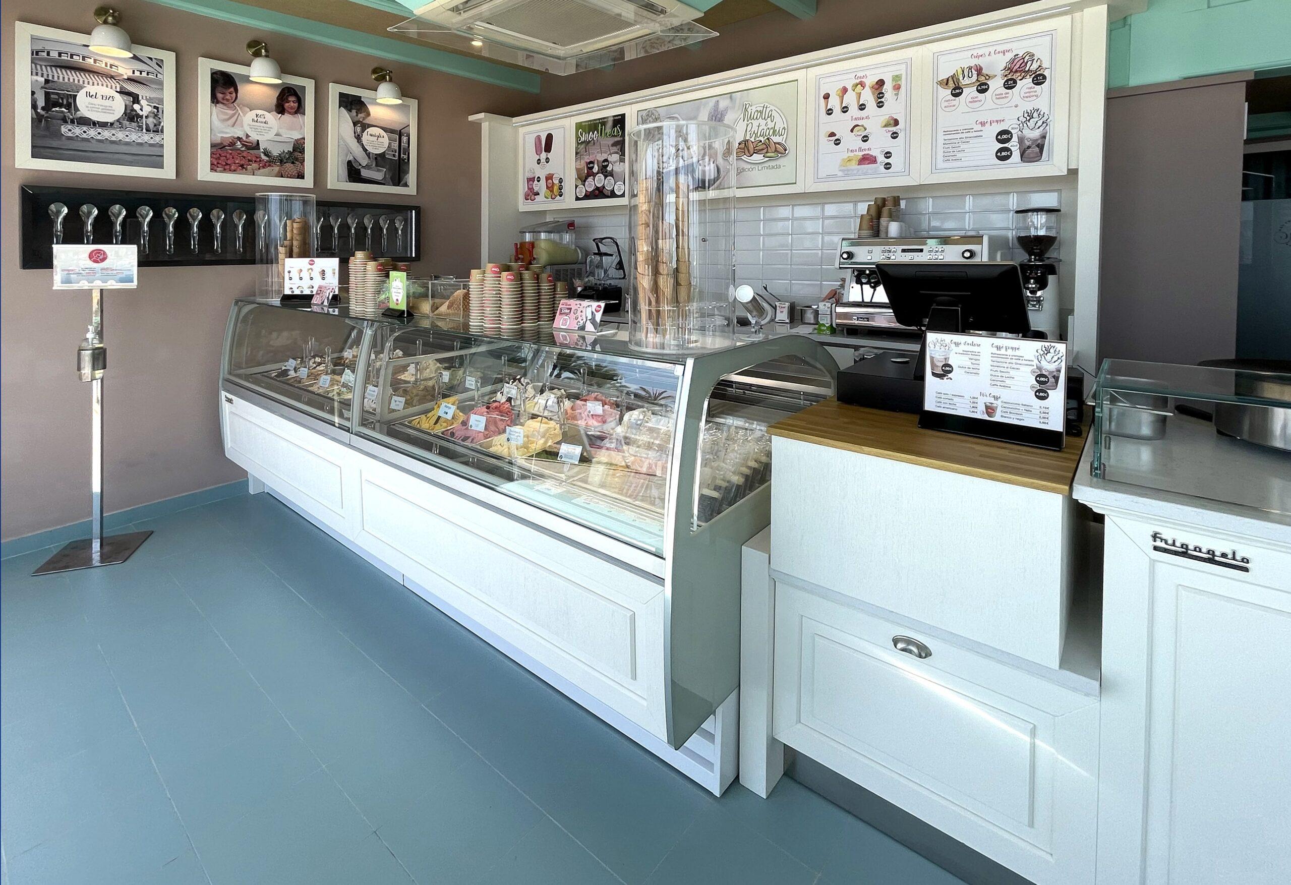 Una de les botigues de Gelati Dino | Gelati Dino