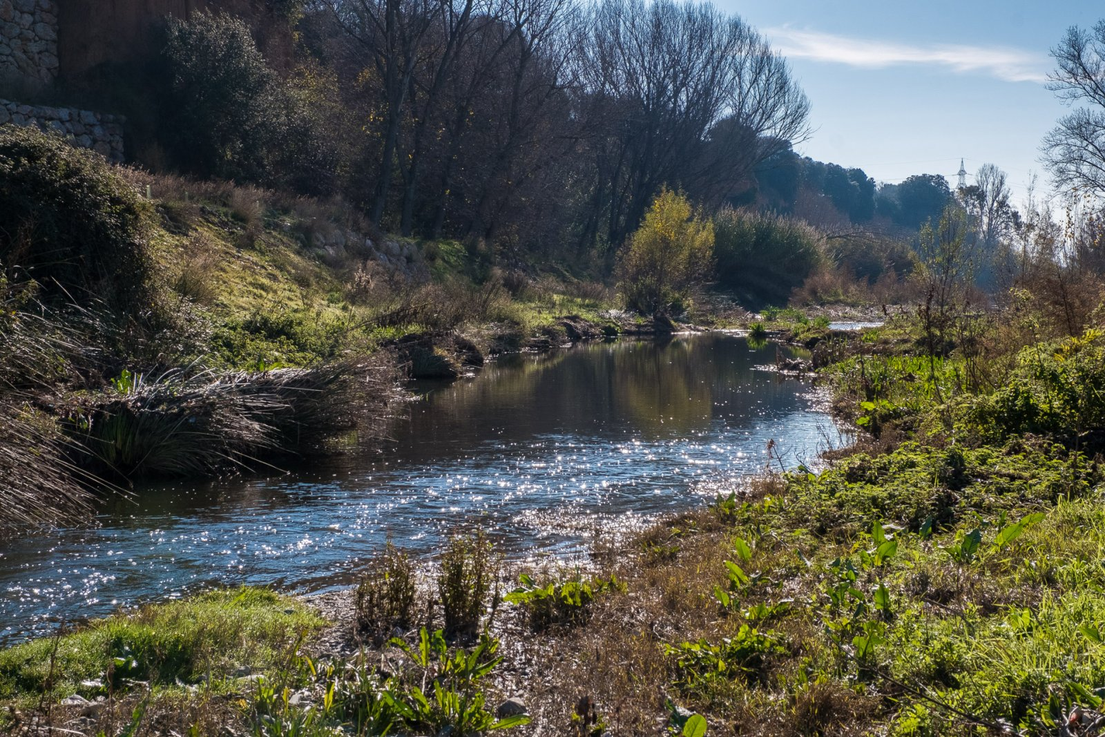 El congost del riu Besòs