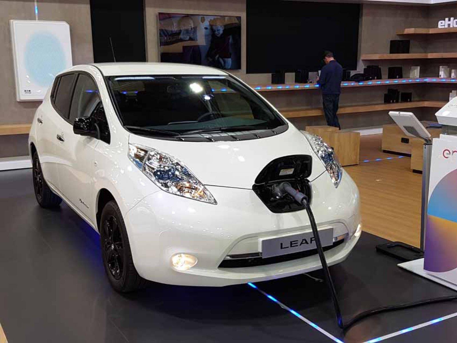 El model Leaf de Nissan
