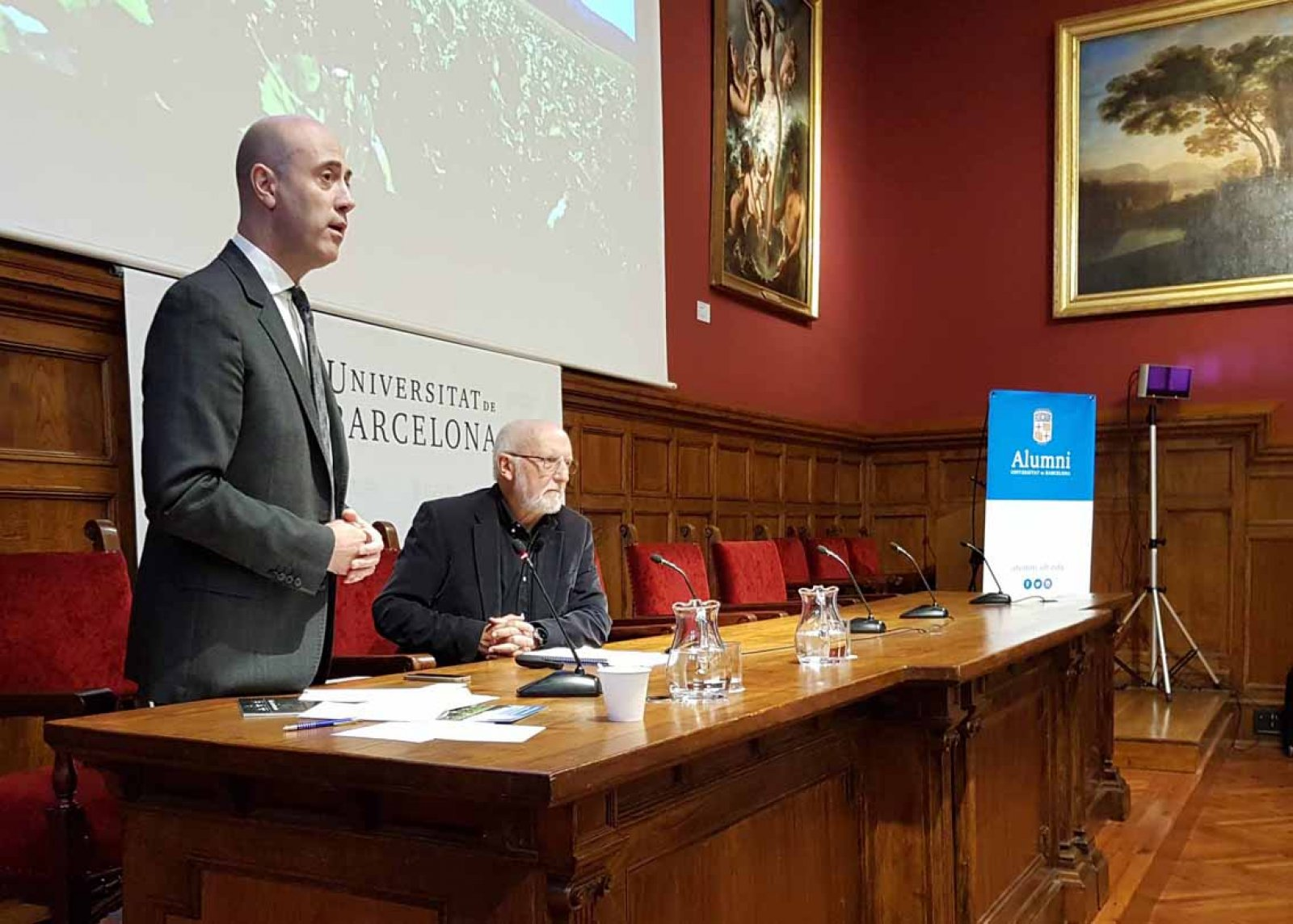Tomàs Molina a les Jornades sobre energies renovables de Cellers Torres i la UB