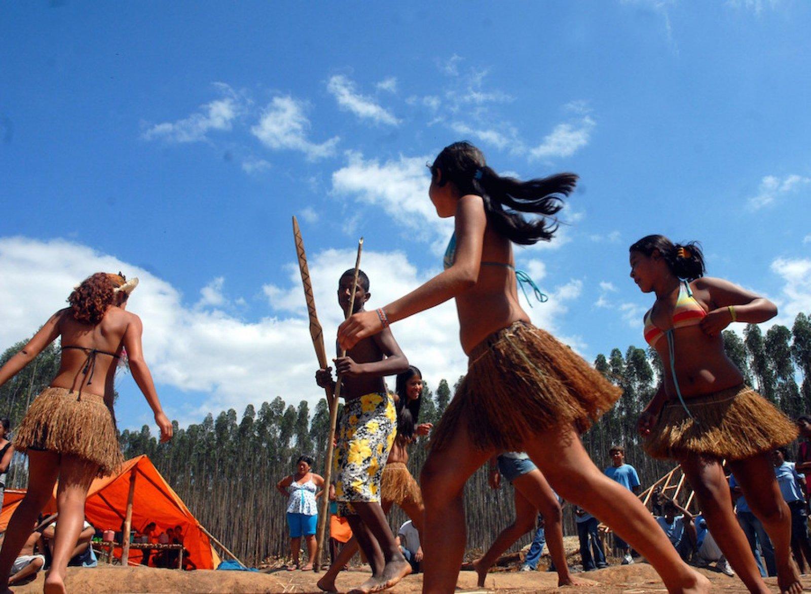 Indígenes del Brasil