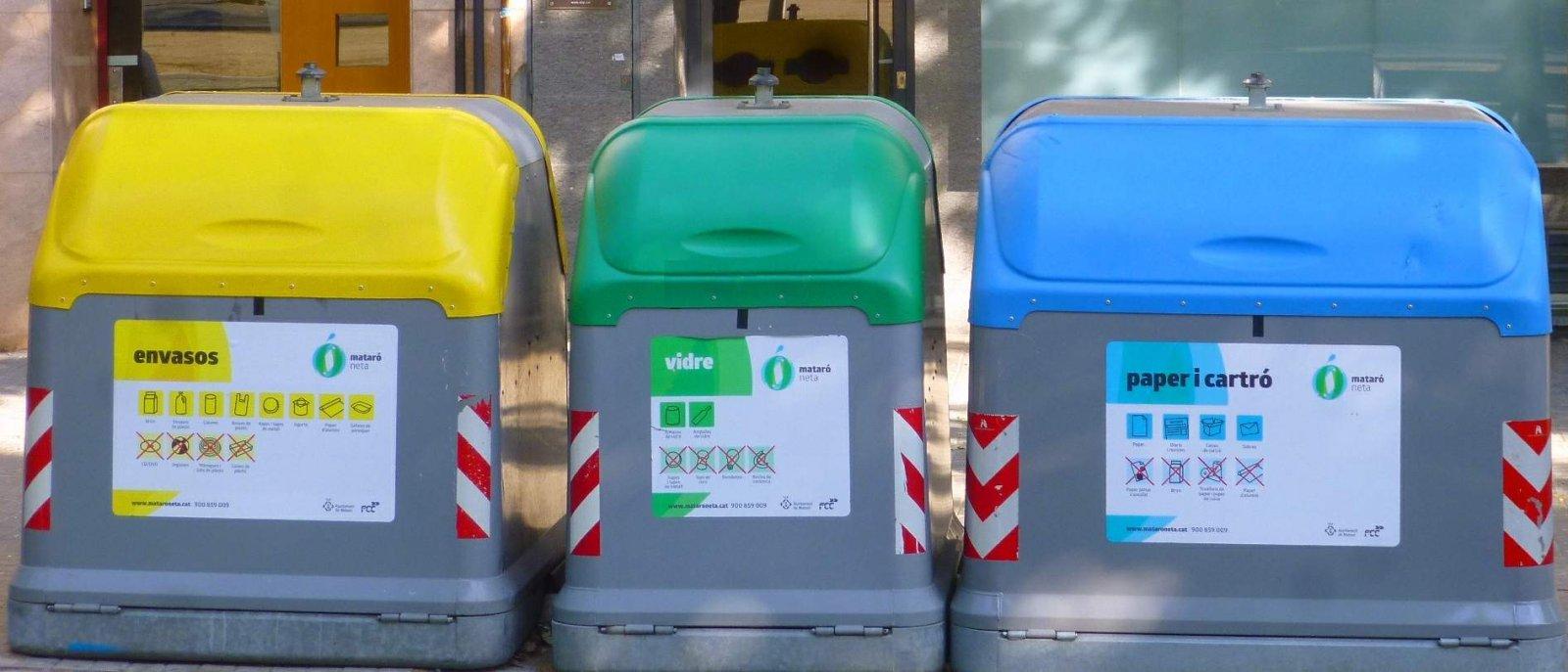 Contenidors de reciclatge
