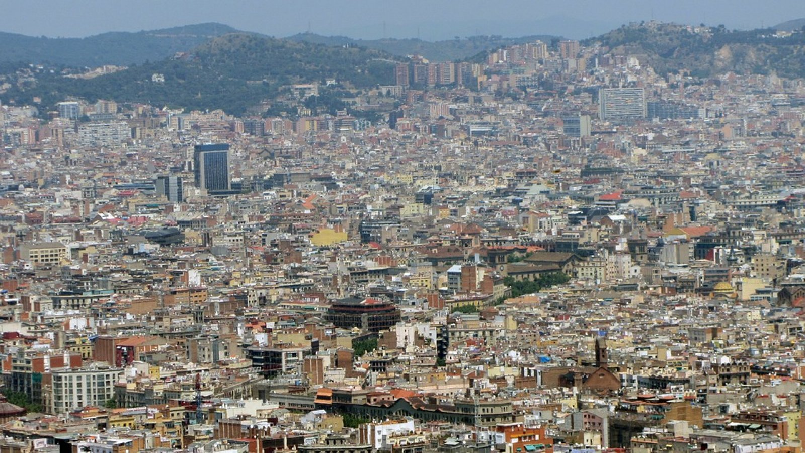 Barcelona, vista