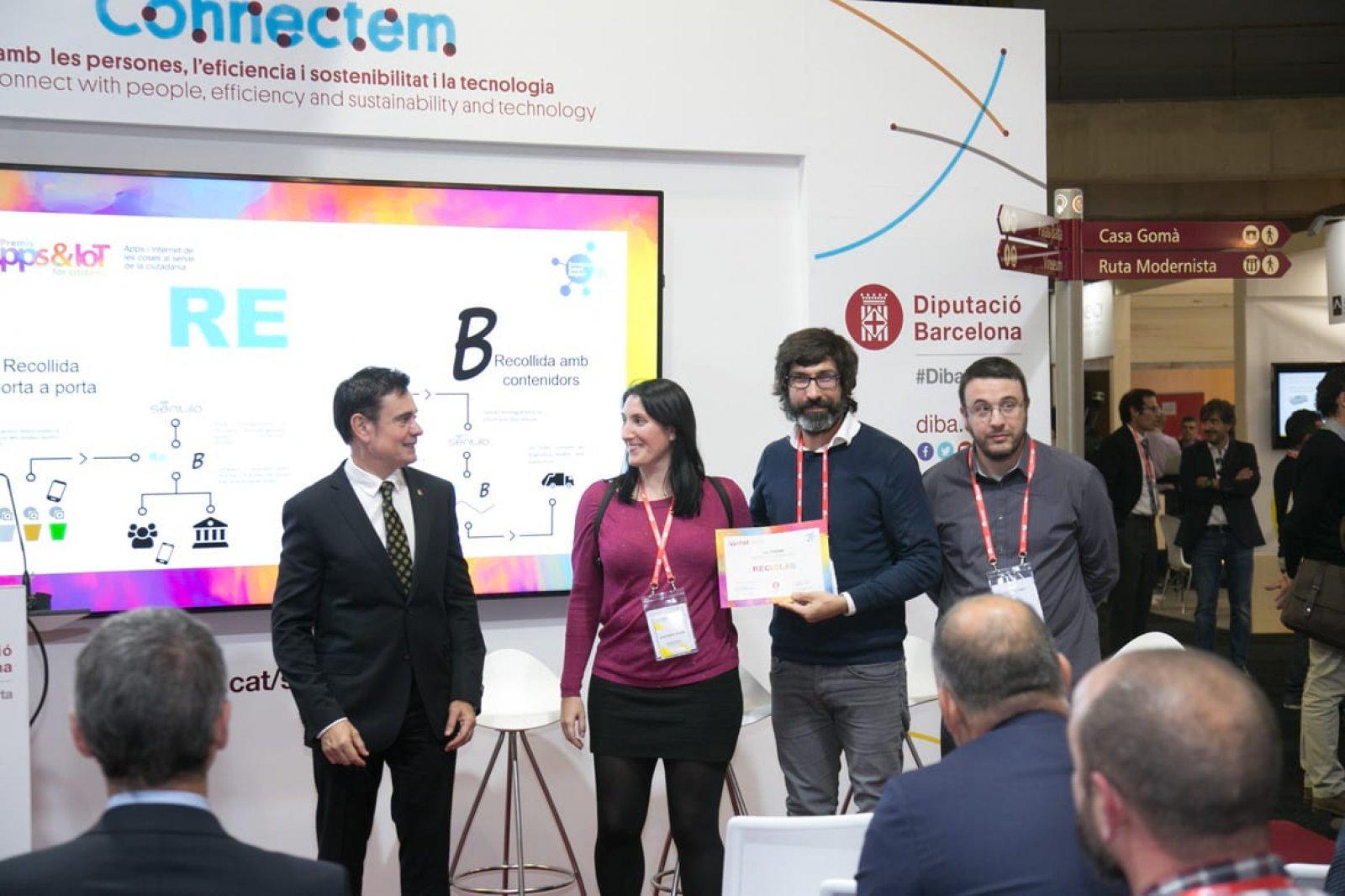 Els premis s'han lliurat en el marc de l'Smart City Expo celebrada a Fira de Barcelona