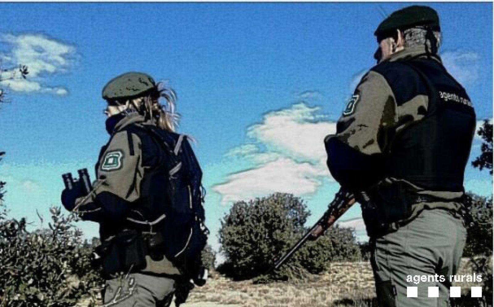 Agents Rurals denuncien un caçador sense llicència