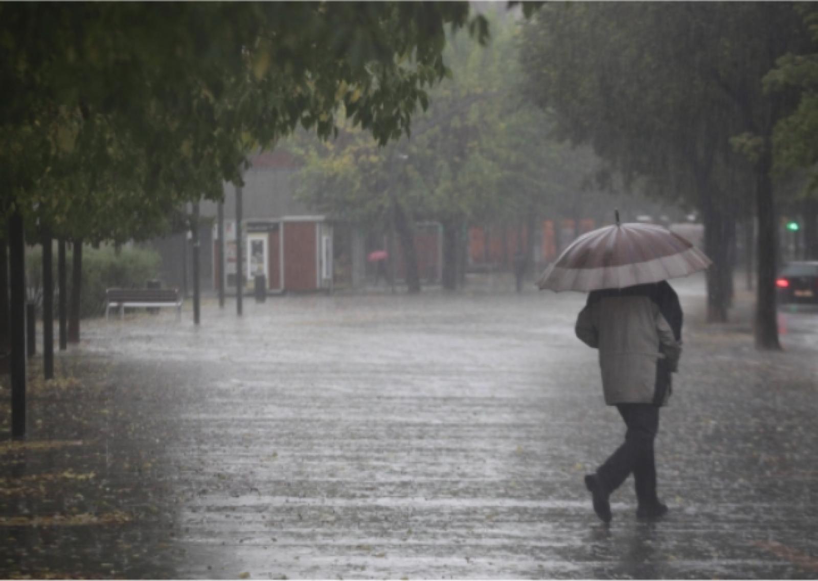 Possibilitat de pluges durant el cap de setmana