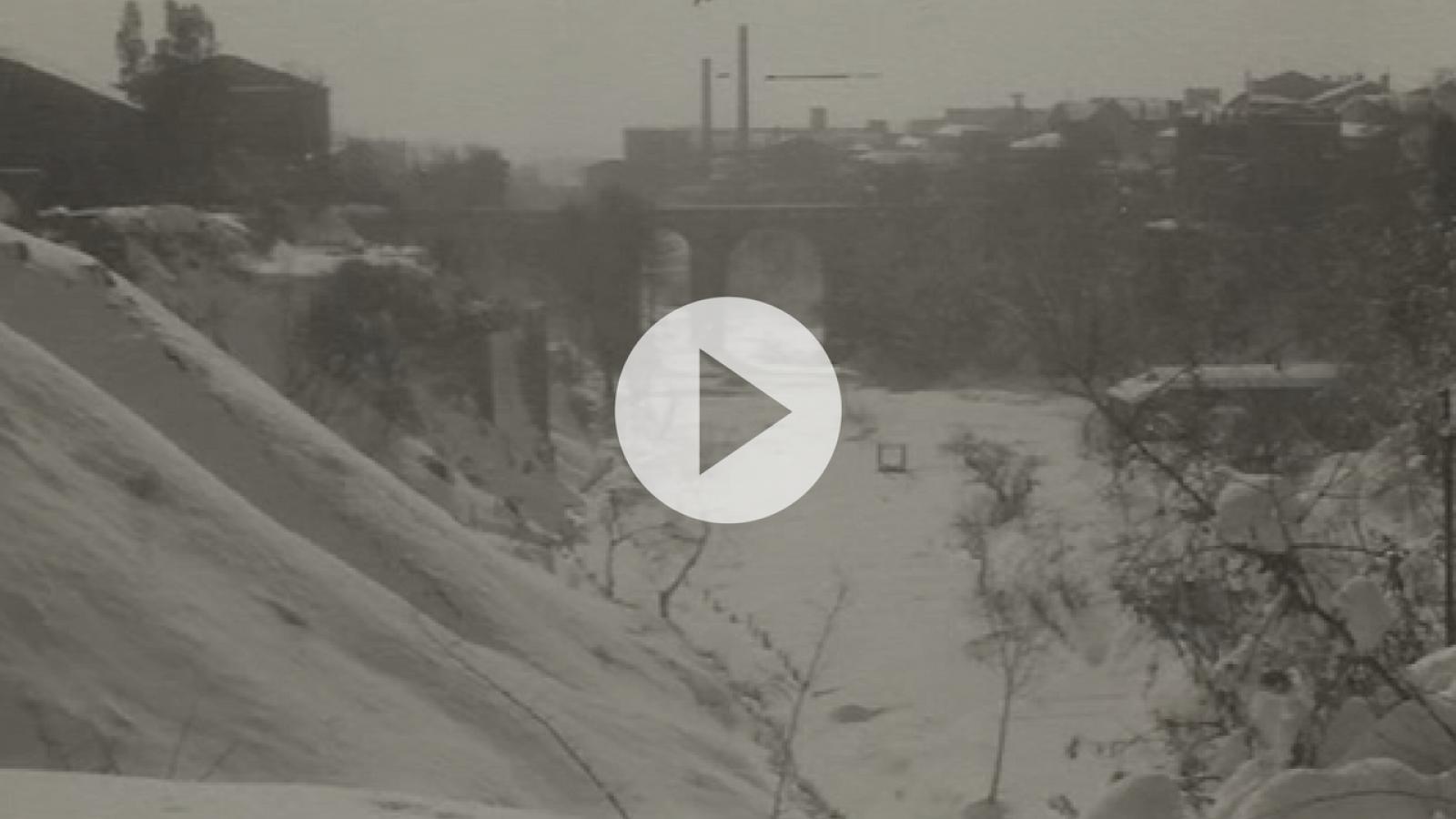 La gran nevada de 1962 a Terrassa
