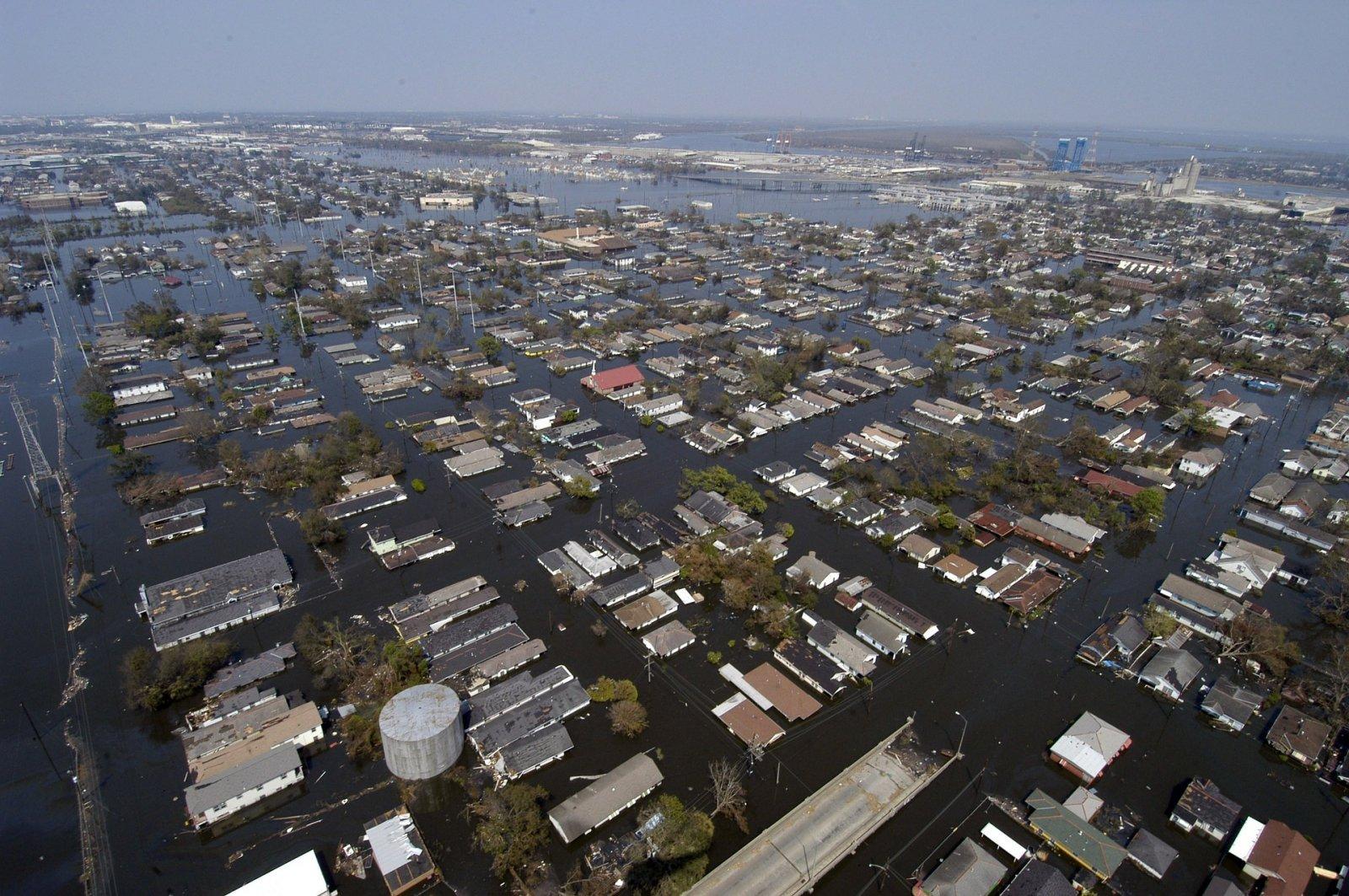 Nova Orleans després del pas de l'huracà Katrina