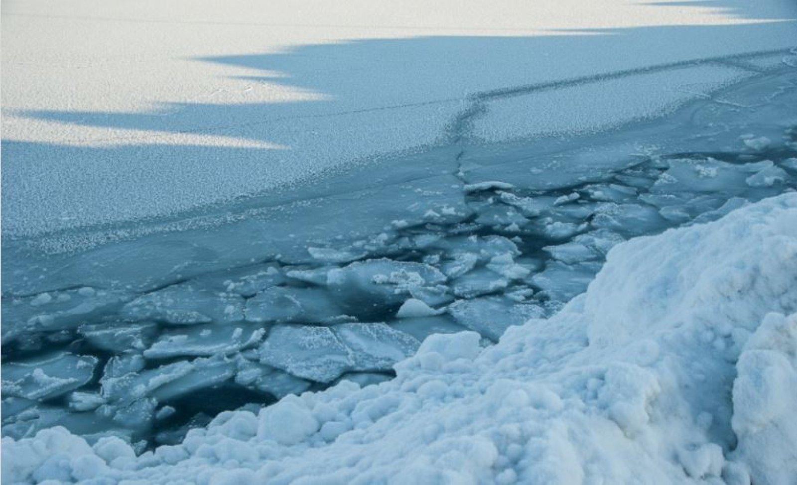 Gel a l'oceà Àrtic