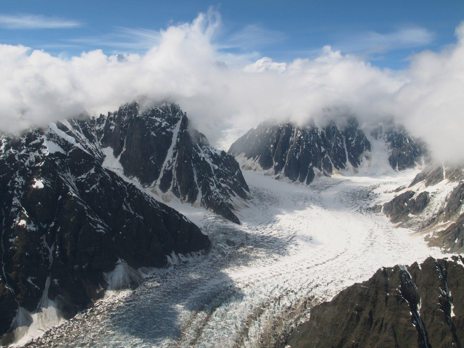 Panoràmica del mont Hunter, a Alaska