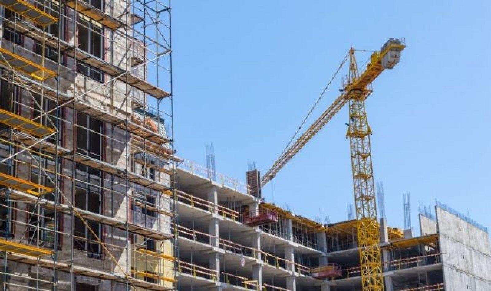 Una promoció de pisos en construcció