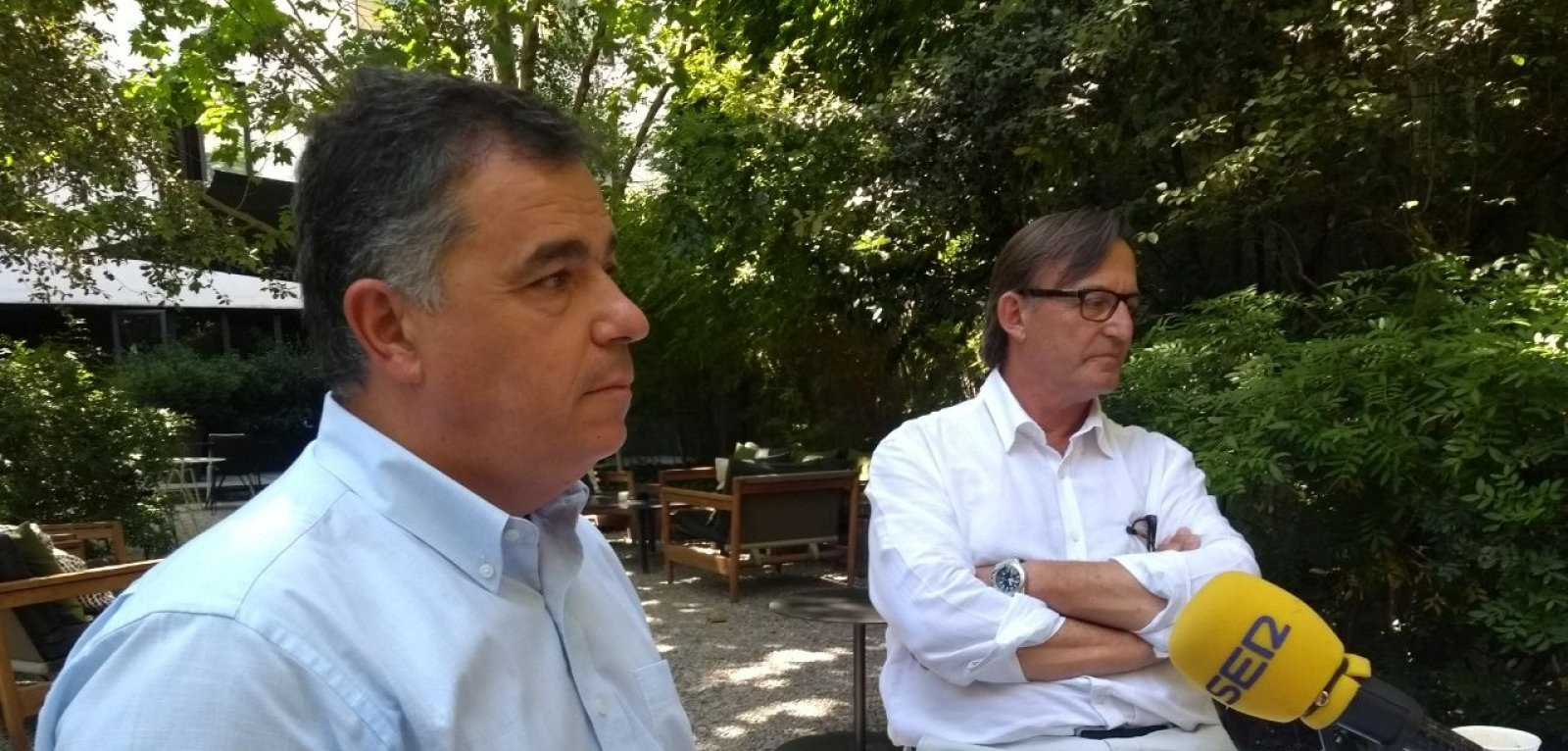 Rossend Castelló i Josep Maria Vila d'Abadal