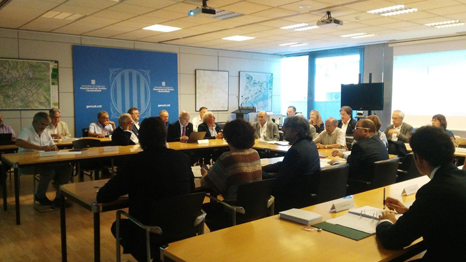 Reunió de la Comissió de Política Territorial i d'Urbanisme de Catalunya