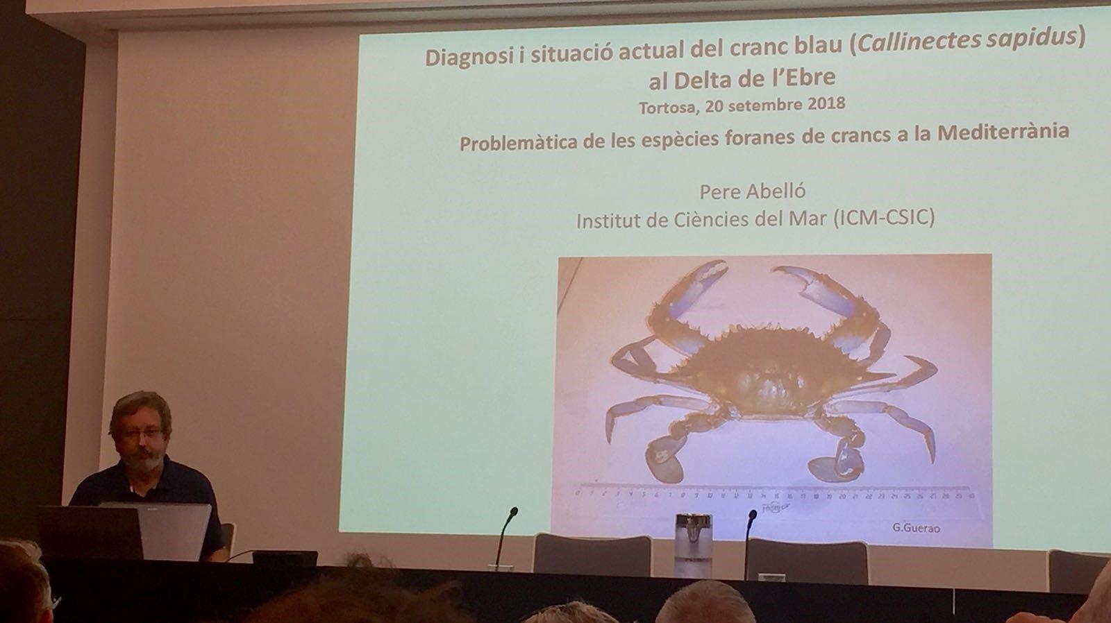 Intervenció de Pere Abelló, expert en crustacis