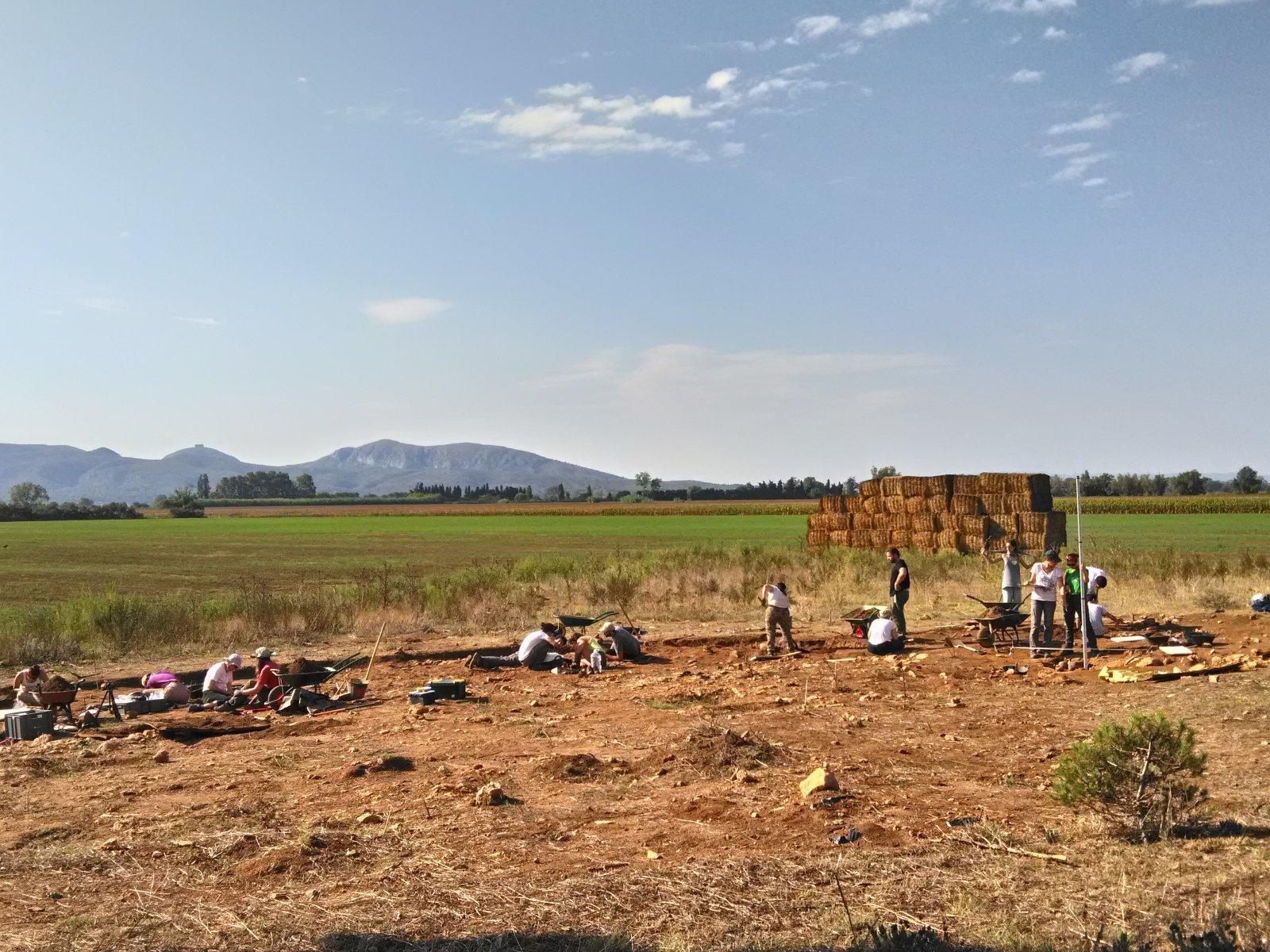 Excavacions arqueològiques a Vilanera