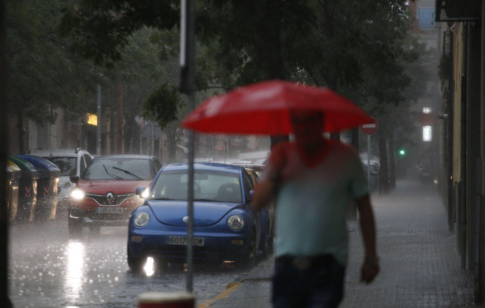 Un dia de pluja a Terrassa vist amb els ulls de Cristóbal Castro