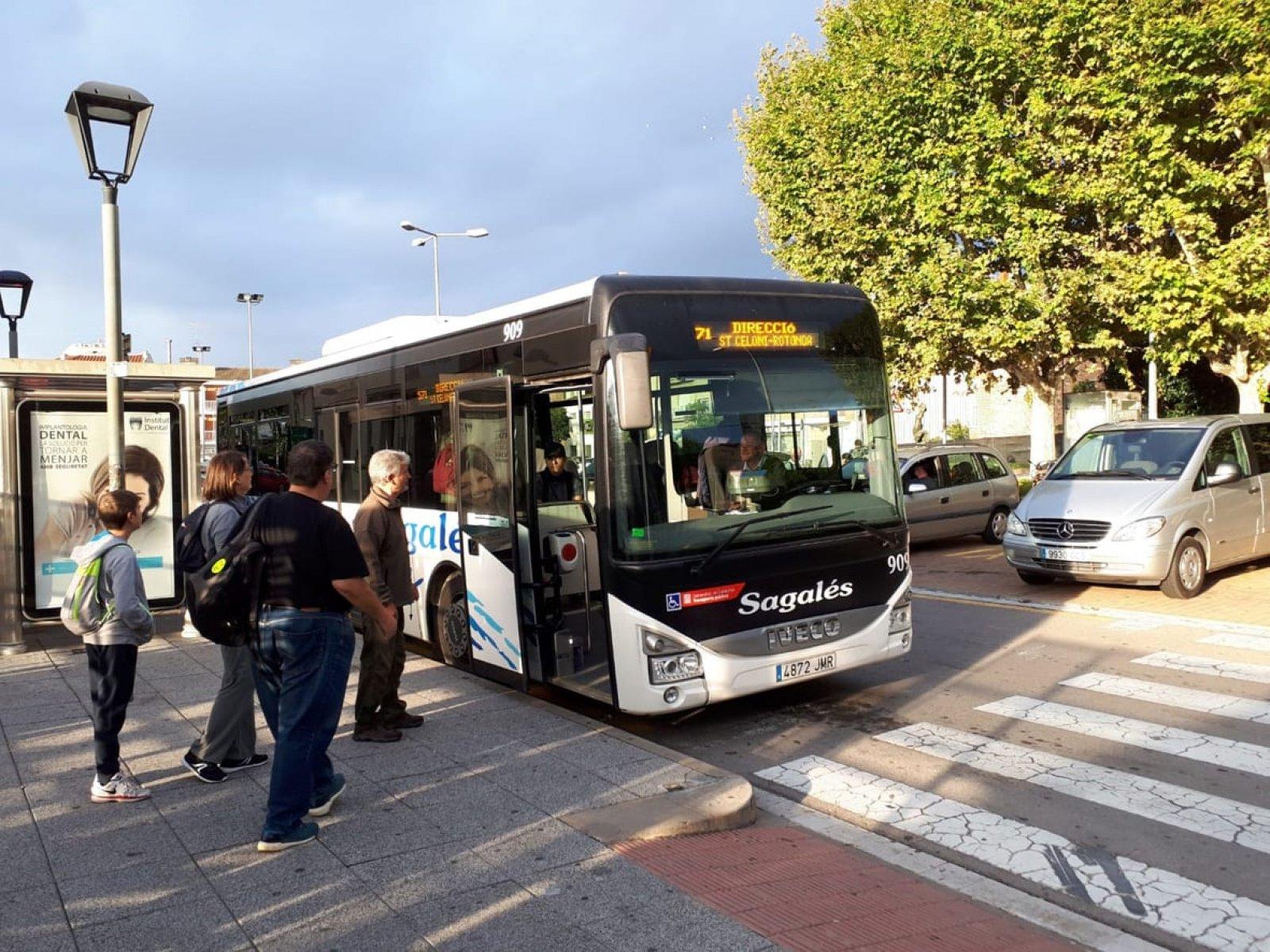 El Bus Parc a Sant Celoni