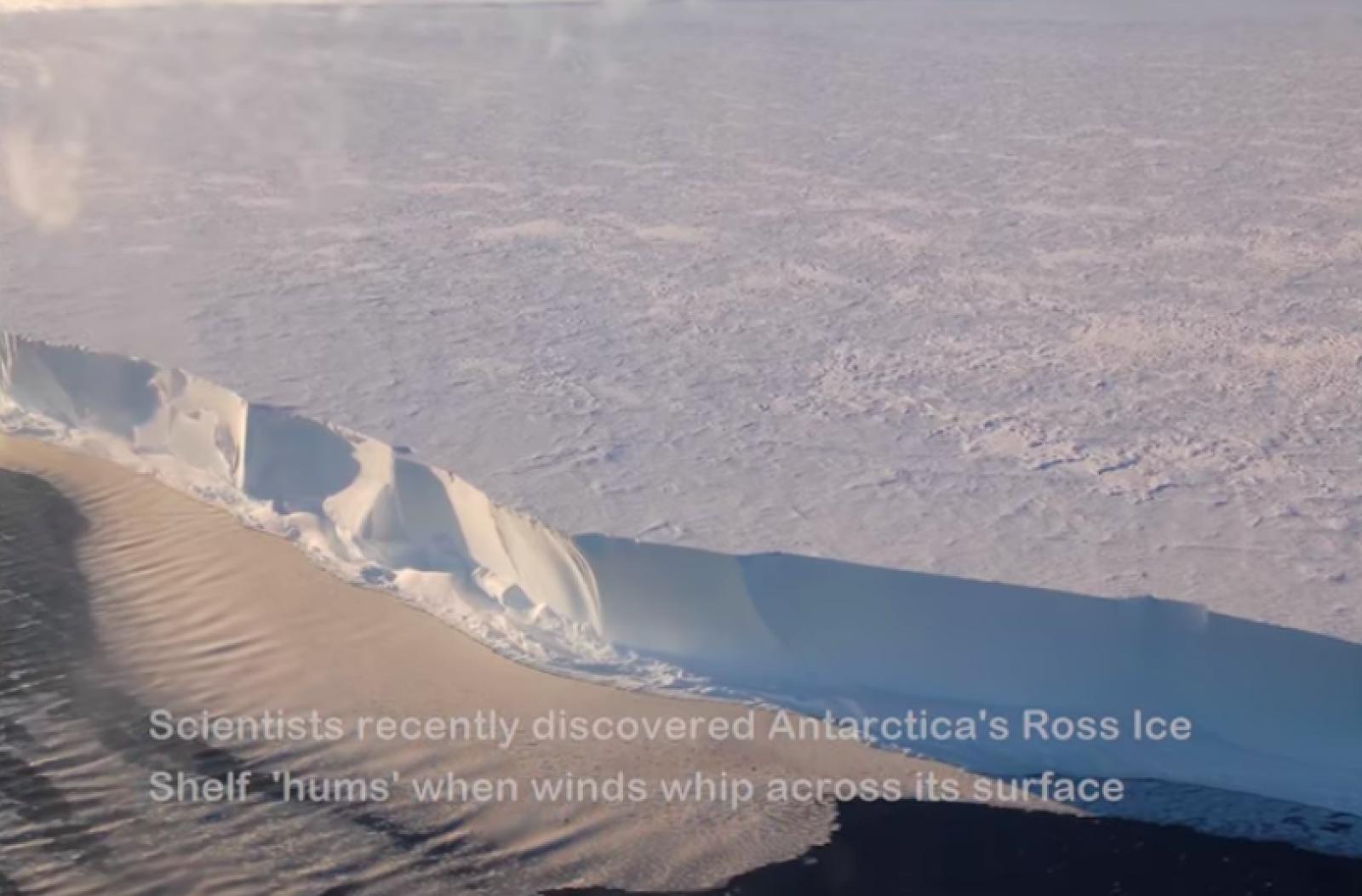 La Barrera de Gel de Ross, a l'Antàrtida