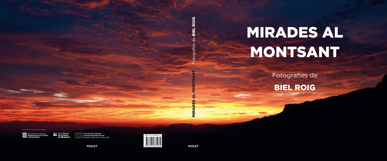 Portada del llibre 'Mirades al Montsant'