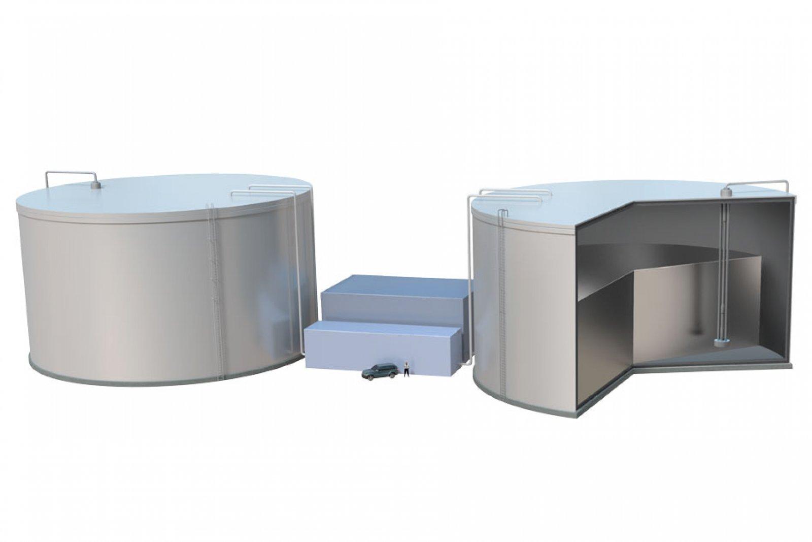 Model del sistema d'emmagatzematge d'energia desenvolupat pels enginyers del MIT