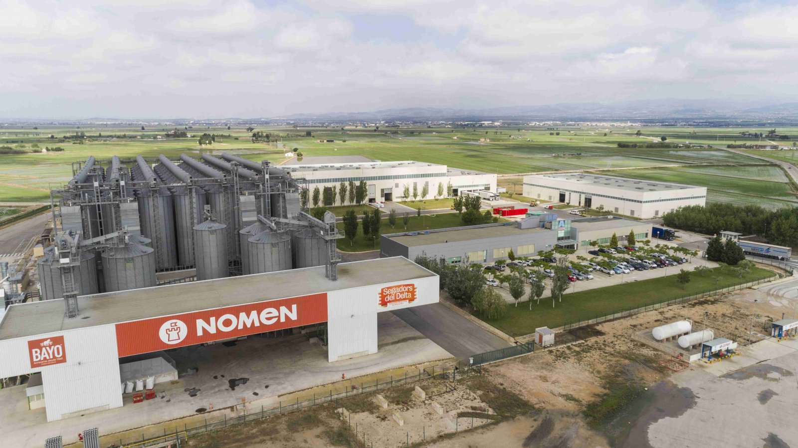 La planta de Nomen Foods a Deltebre