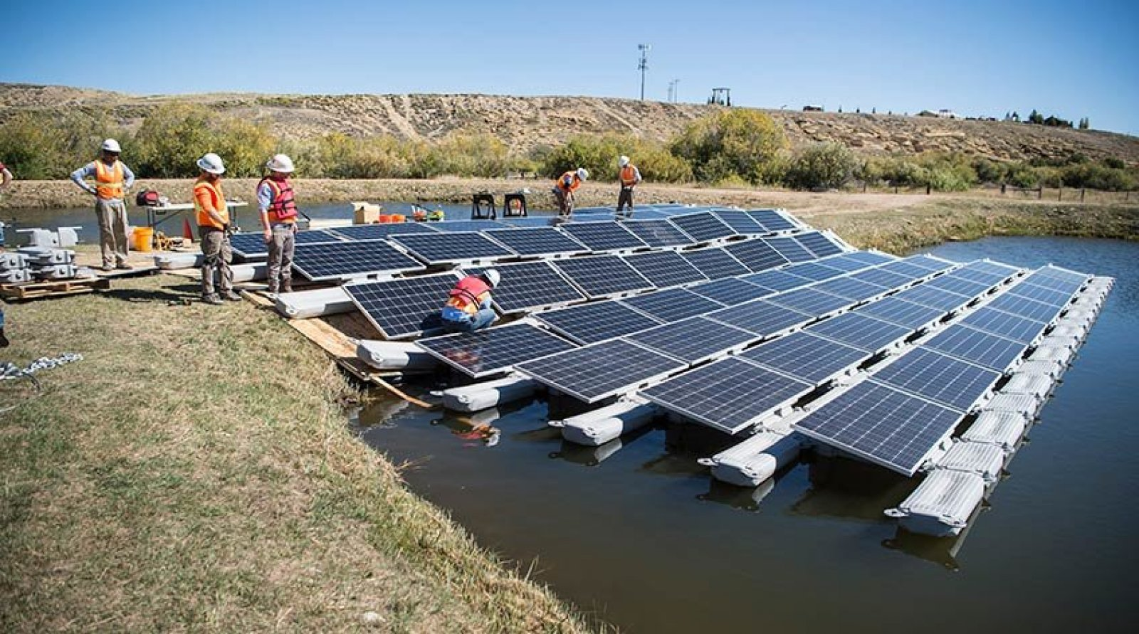 Instal·lació de plaques solars fotovoltaiques a Colorado (Estats Units)