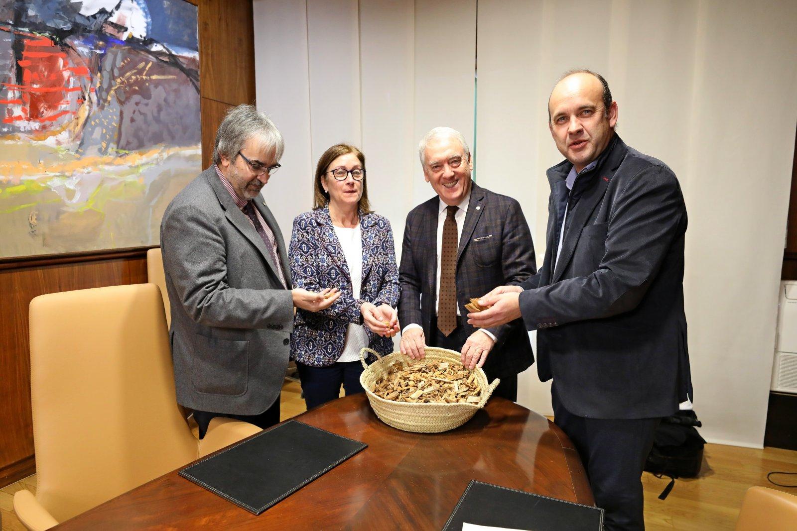 Presentació de la xarxa de calderes de biomassa de proximitat de la Diputació de Tarragona
