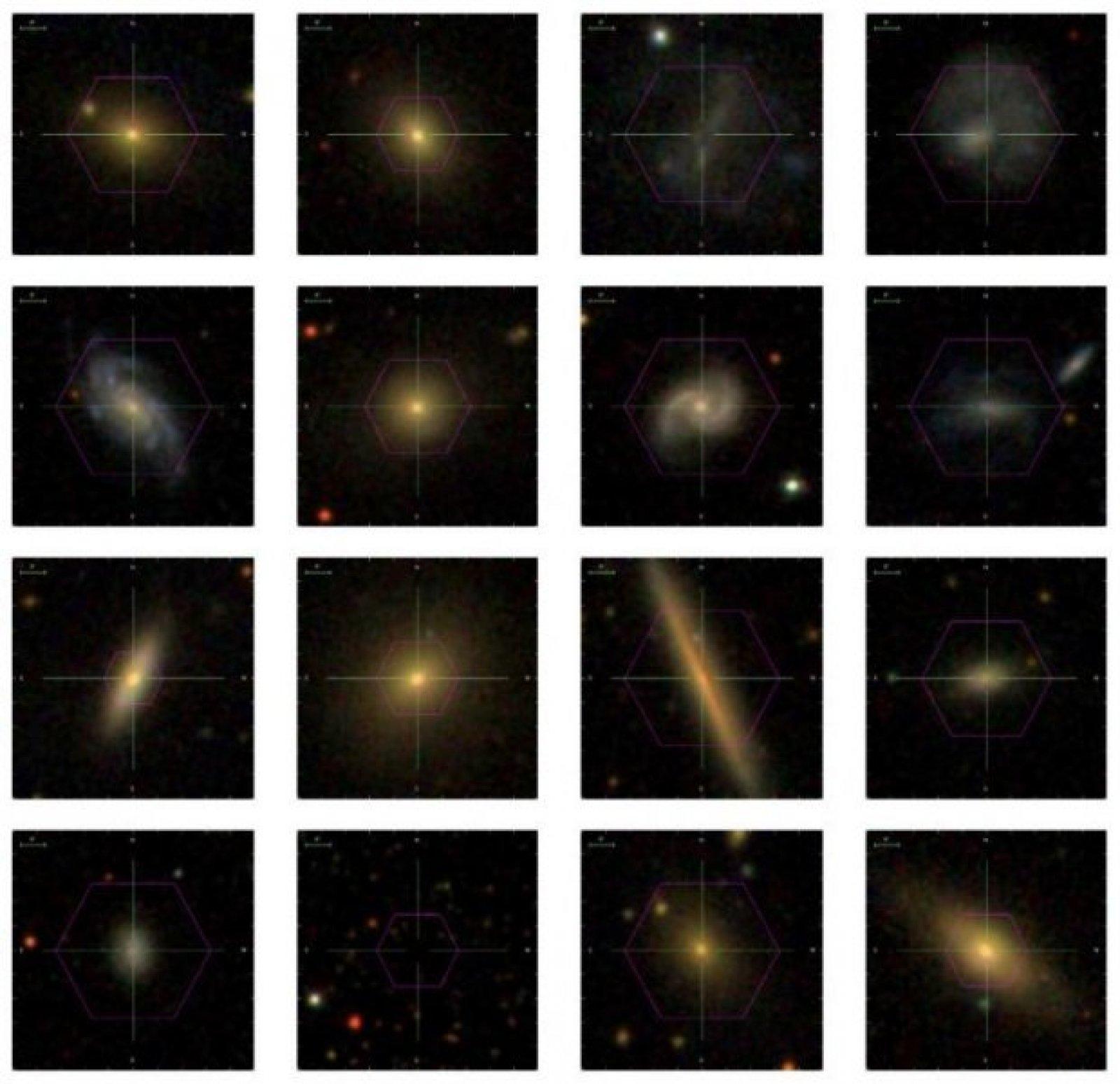 Galàxies estudiades pel projete MaNGA
