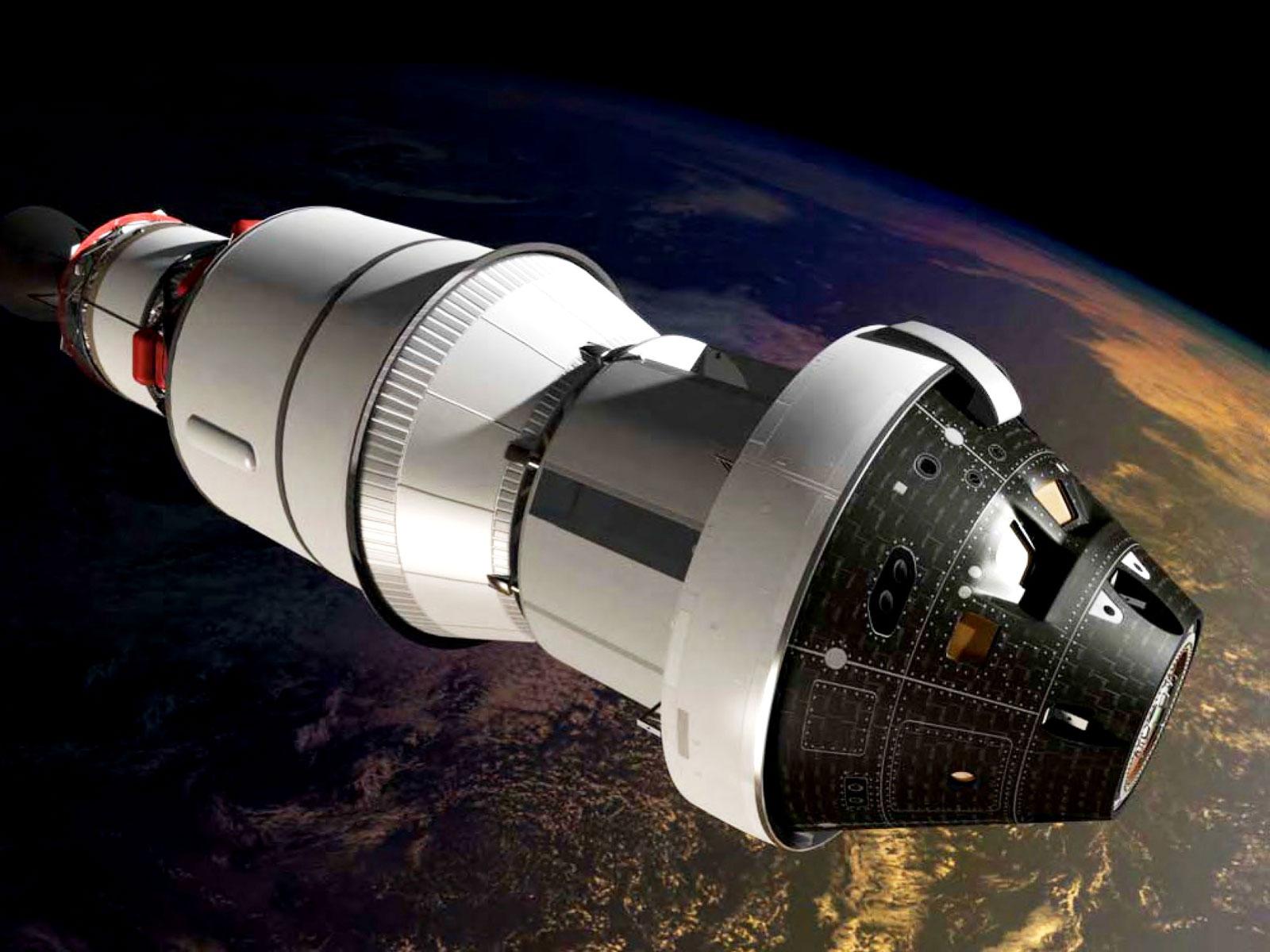Model d'una nau Orion
