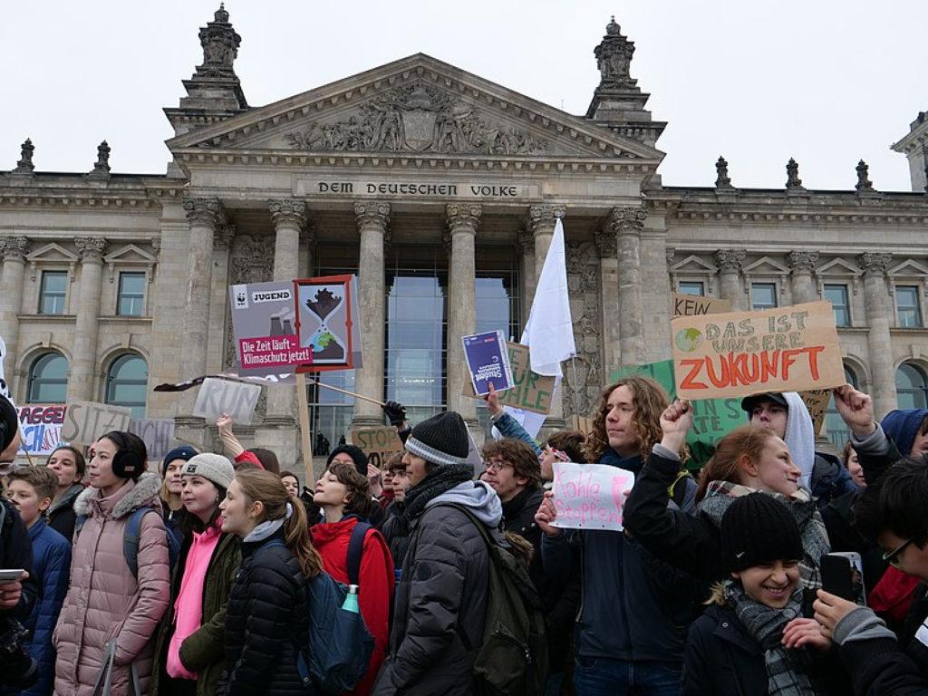 Estudiants canvi climàtic Berlín