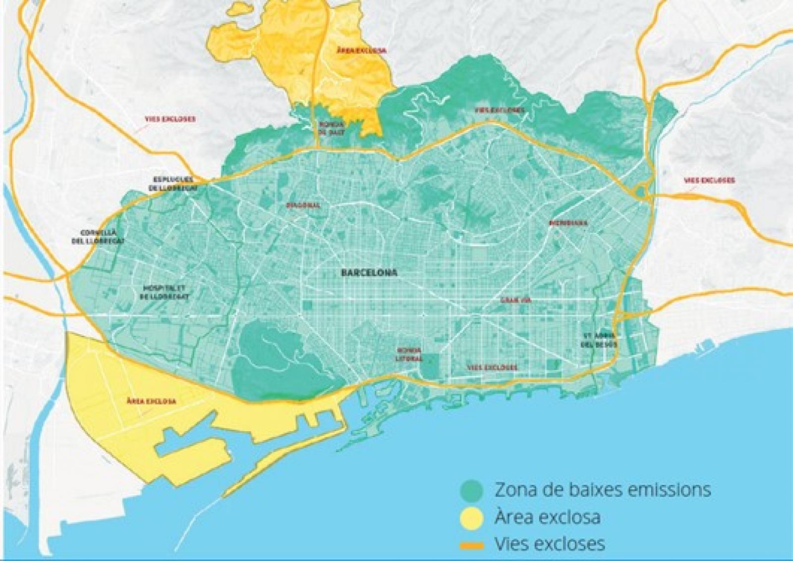 Extensió de la Zona de Baixes Emissions