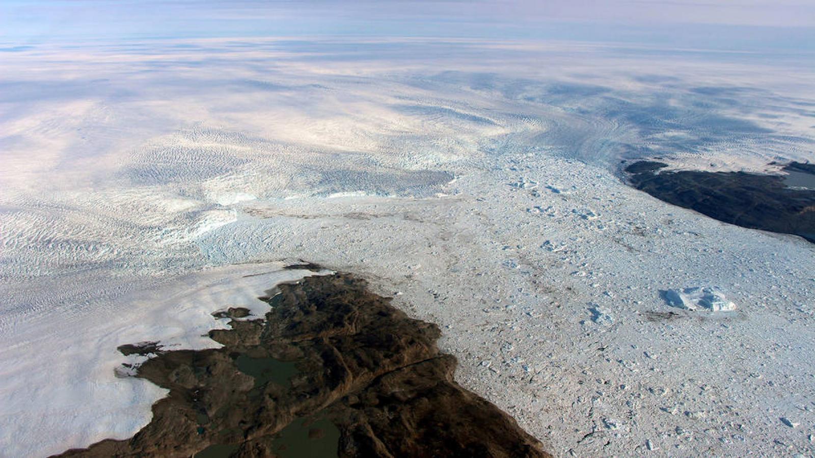 La glacera Jakobshavn