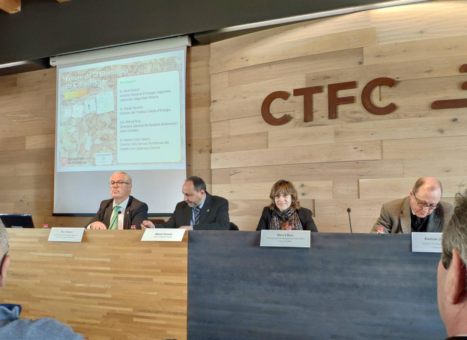 Fòrum de la Biomassa de Catalunya