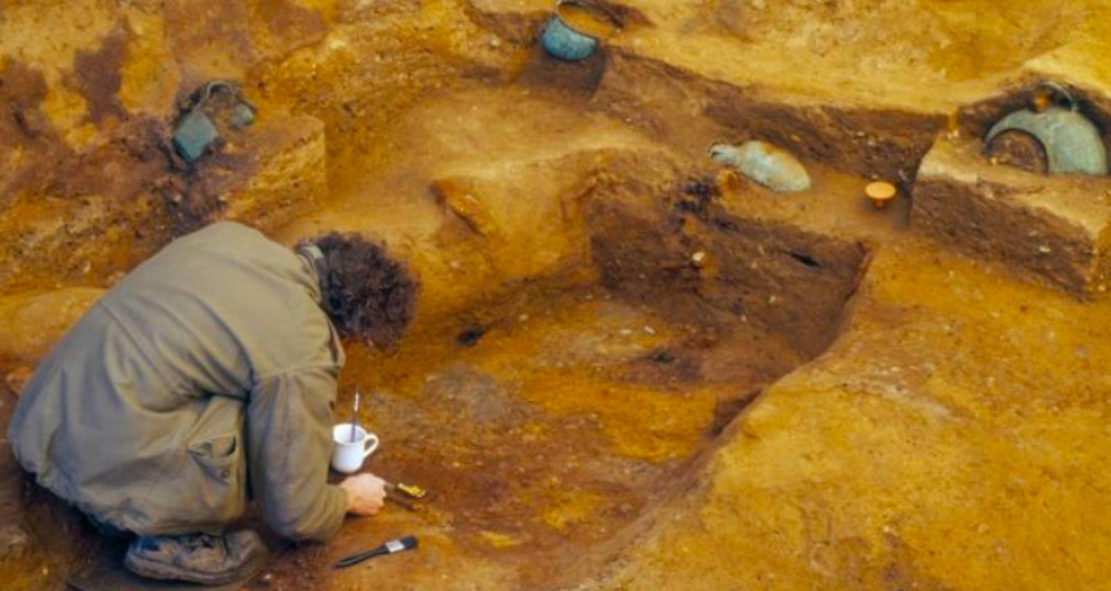 La tomba del príncep va ser descoberta l'any 2003
