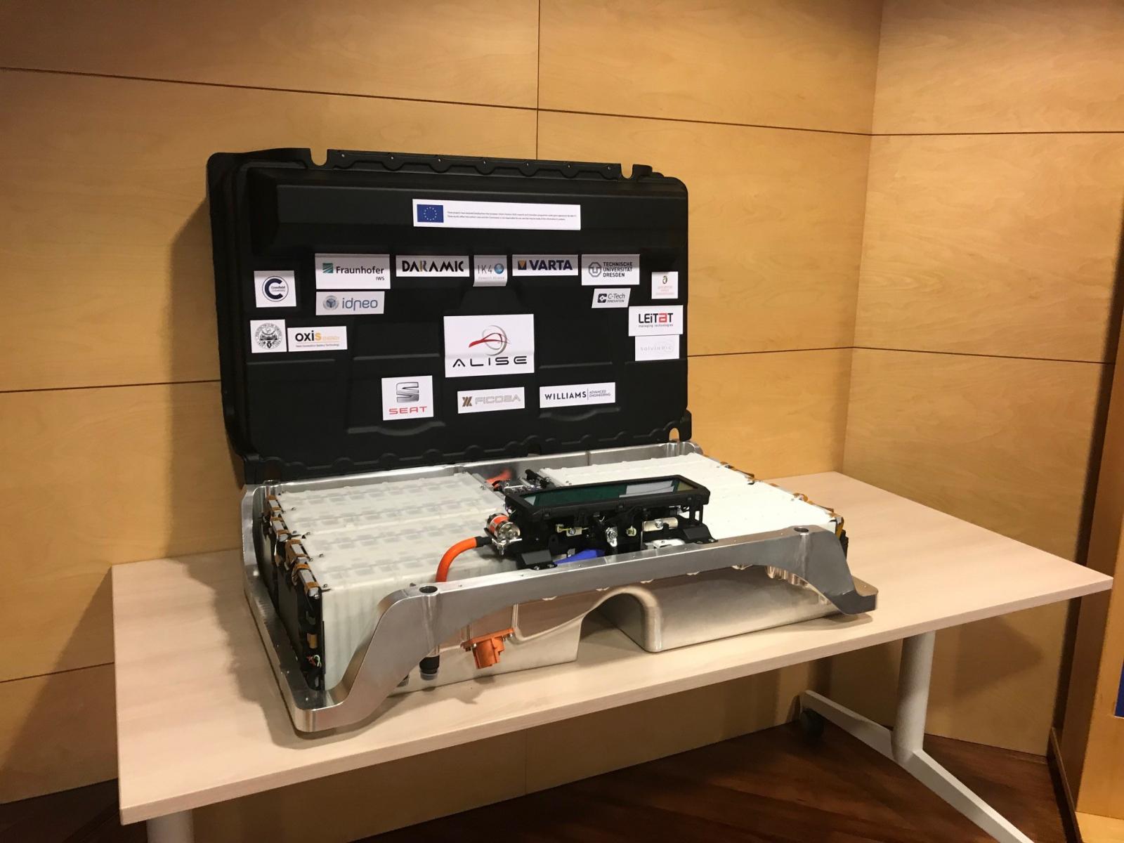 La nova bateria elèctrica desenvolupada pel consorci europeu