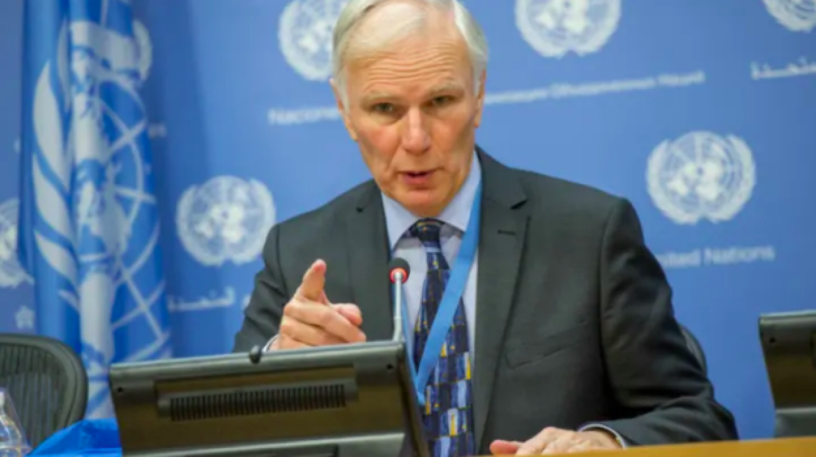 El Relator Especial de l'ONU en Pobresa Extrema i Drets Humans, Philip Alston