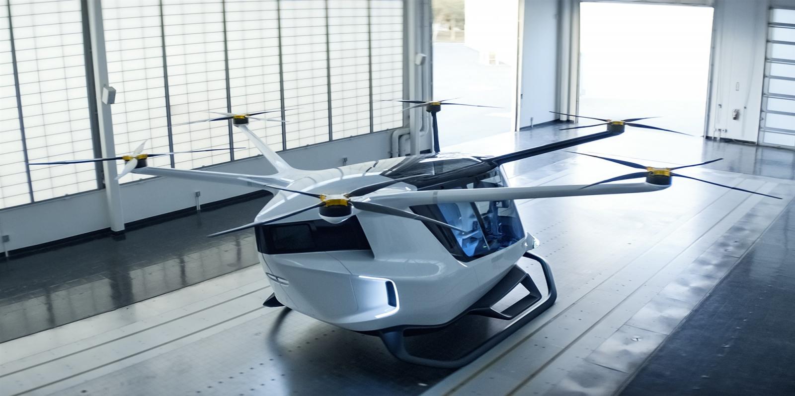 El vehicle volador d'hidrogen Skai