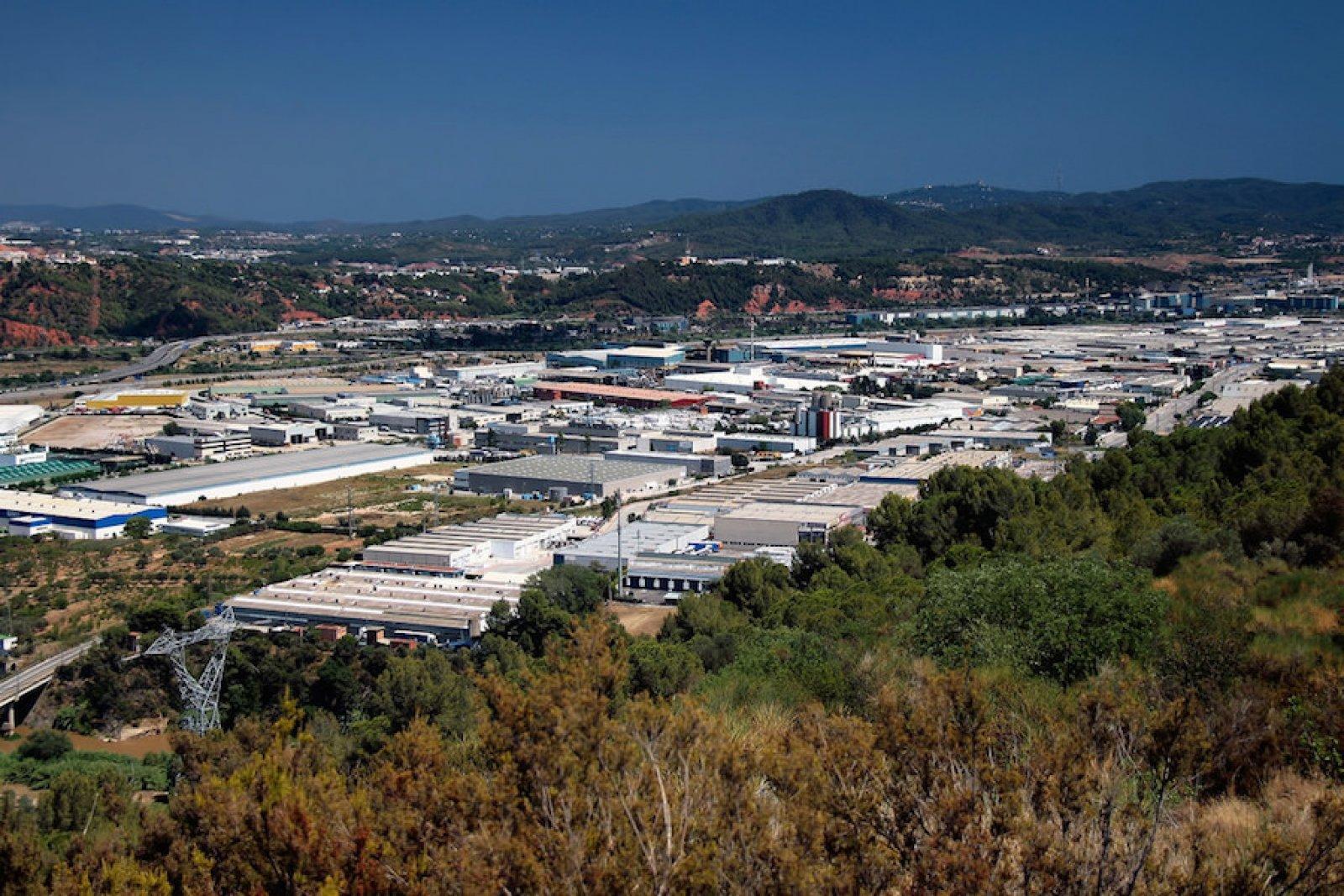 Polígon industrial Aquiberia de Martorell