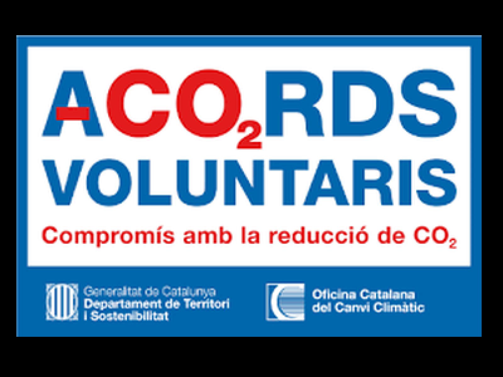 Acords voluntaris per a la reducció de les emissions de CO2