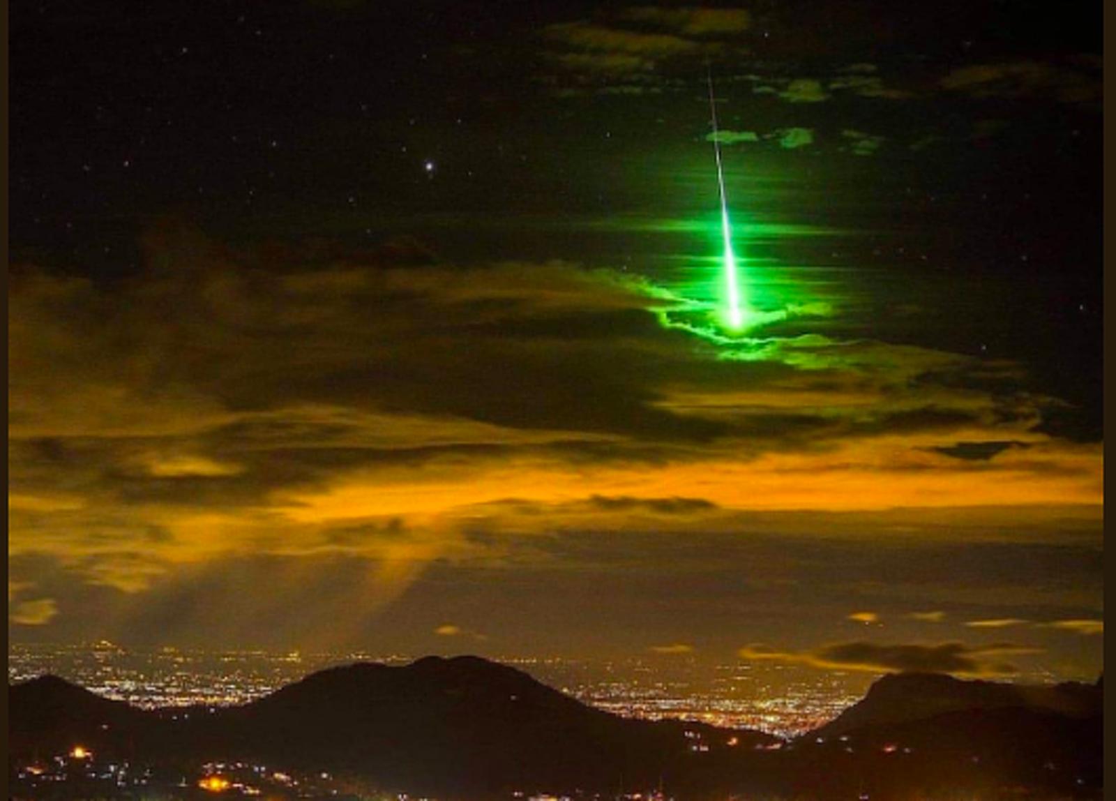 El meteor que s'ha vist al cel de Catalunya