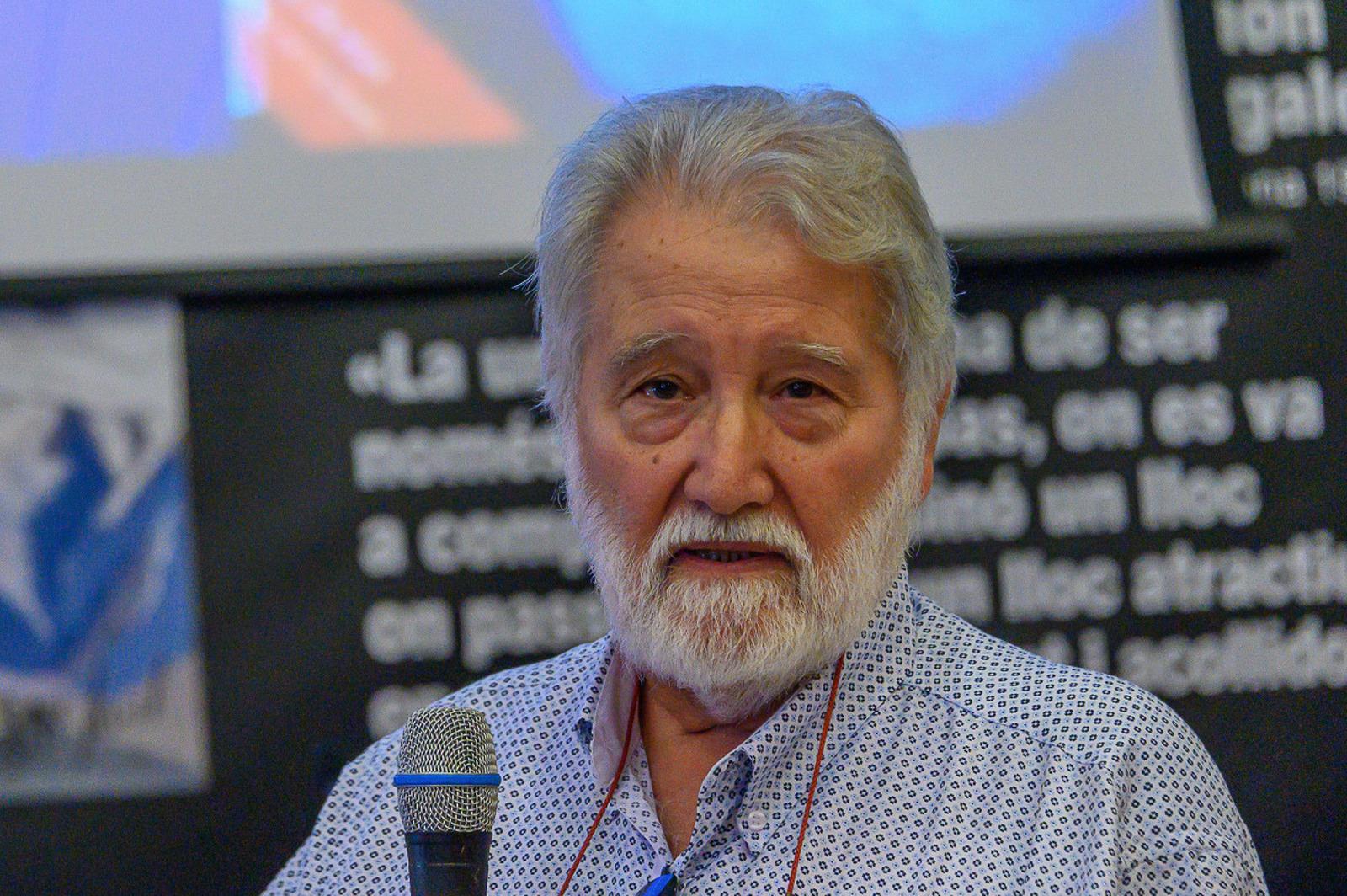 Joandomènec Ros, president de l'Institut d'Estudis Catalans ha protagonitzat l'homenatge a Ramon Margalef