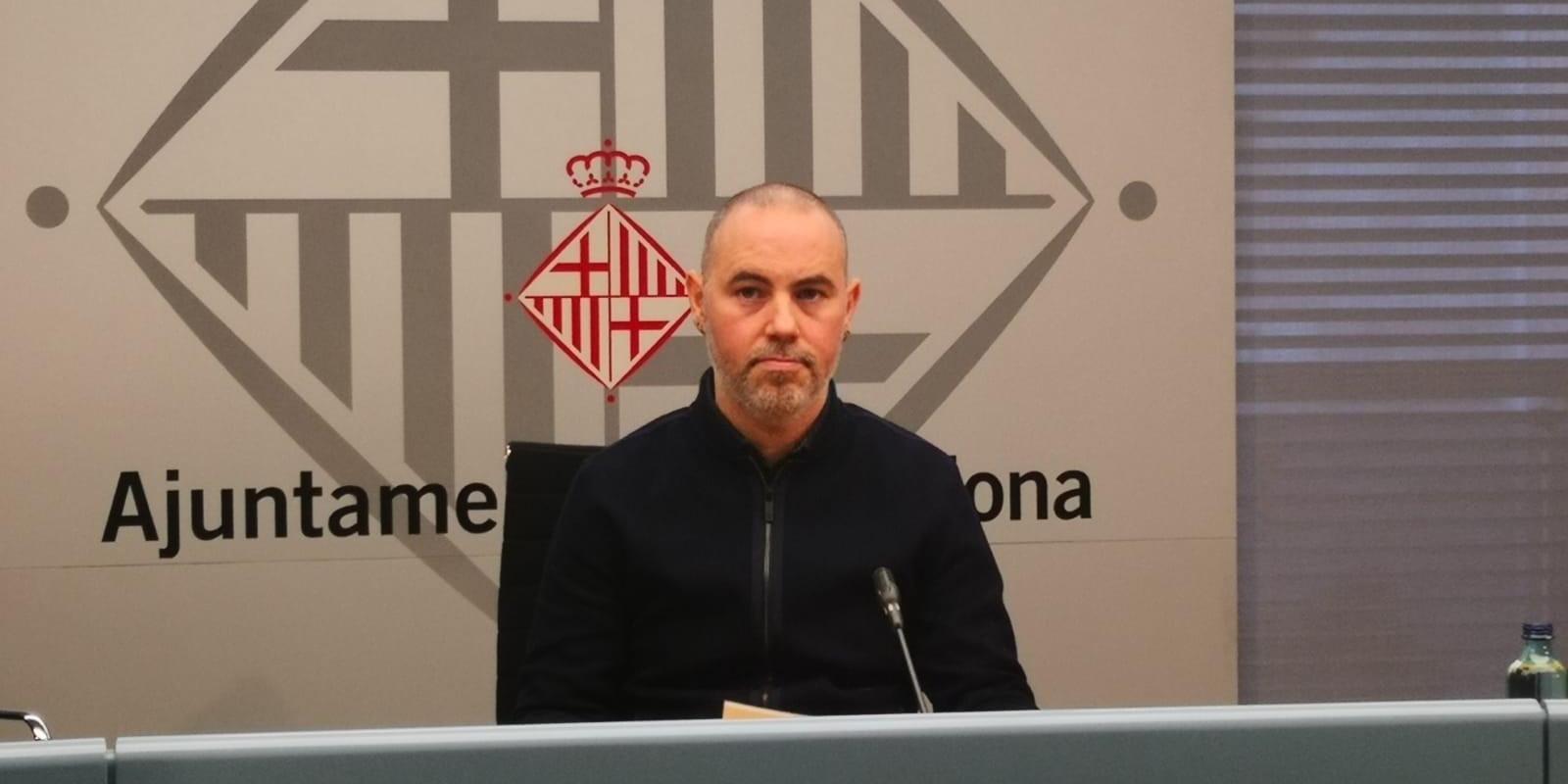 El regidor de Gràcia, Eloi badia, en una imatge d'arxiu