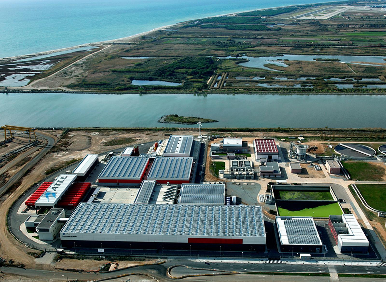 La dessalinitzadora del Llobregat